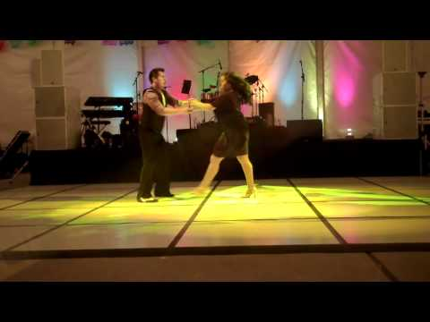 Texas Salsa Congress at MFAH Event w/Dionicio & Nataly
