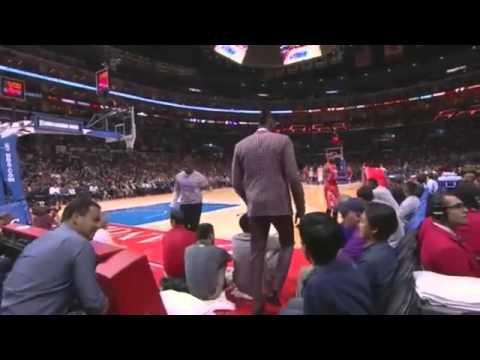 Dwight Howard Hits Isaiah Canan With an Unexpected Groin Shot   NBA 2014 15 Season