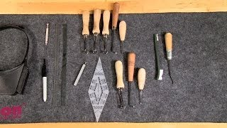 getlinkyoutube.com-Gunsmithing - Hand Checkering Tools - What They Are and How To Use Them