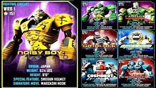 getlinkyoutube.com-Real Steel WRB Noisy Boy VS PRO WRB I ROBOTS Series of fights NEW ROBOT (Живая Сталь)