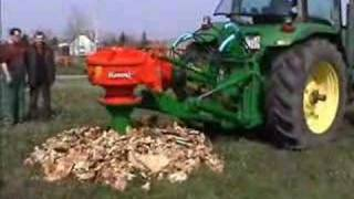 getlinkyoutube.com-John Deere 8100 and Rotor S stump grinder