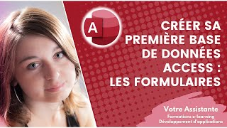 getlinkyoutube.com-Créer sa première base de données Access - Création d'un formulaire (3/4)