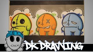 How to draw my new graffiti character