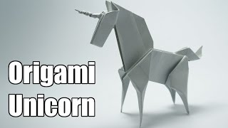 getlinkyoutube.com-Origami Unicorn (Jo Nakashima)
