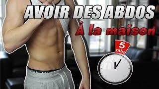 getlinkyoutube.com-[5 MINUTES] COMMENT AVOIR DES ABDOS RAPIDEMENT ? PROGRAMME MAISON !