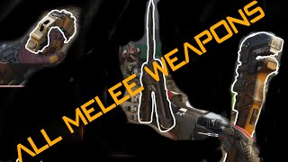 getlinkyoutube.com-BO3 Butterfly Knife Brass Knuckles Wrench All Melee Weapons