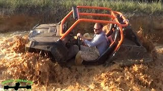 RZR VS RZR AND HOW NOT TO MUD!!!