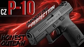 getlinkyoutube.com-The New CZ P10 C Striker Fired Compact 9mm: Thoughts (No Review)