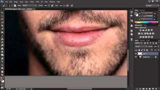 كيف تعمل لحية بالفوتوشوب ( Photoshop )