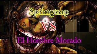 getlinkyoutube.com-Springtrap VS El Hombre Morado | Five Night at Freddy´s | Universo Paralelo Creepypasta