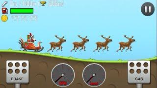 getlinkyoutube.com-Hill Climb Racing/SLEIGH/ALL UNLOCKED/Gameplay make more fun kid #1