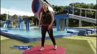 "getlinkyoutube.com-Long Hair Game Show Contestants (Entire Appearance on ""Wipeout"") - Marie Gerlach"