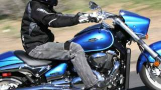 getlinkyoutube.com-2009 Muscle Cruiser Shootout - Suzuki M90 vs Star Warrior