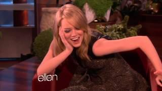 getlinkyoutube.com-Emma Stone Clip from Ellen