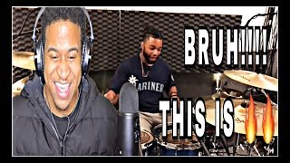 "Drummer Reactions -""Journey"" Drum Cover By Aaron Smith"