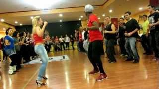 getlinkyoutube.com-Sensual  Dance Madrid Festival 2012: Mandela&Lisa workshop