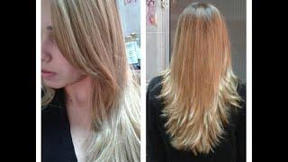 getlinkyoutube.com-Corte repicado - Como cortar o cabelo e franja sozinha? - Amanda Câmara