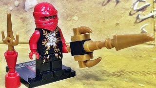 getlinkyoutube.com-Elephant 닌자고 카이 에어짓주 미니피겨 레고 짝퉁 Lego knockoff ninjago kai airjitzu minifigure