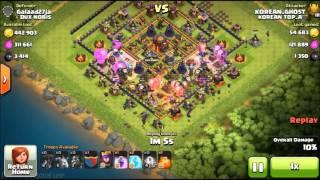 getlinkyoutube.com-10홀파밍 라벌미로 한방에 먹어보자#1 Clash of clans - Town hall 10 Farming