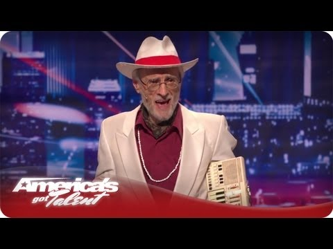 Whatcha Gonna Do?  Burton Crane - America's Got Talent Season 7 Audition