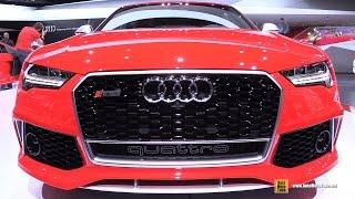getlinkyoutube.com-2015 Audi RS7 - Exterior and Interior Walkaround - 2015 Detroit Auto Show
