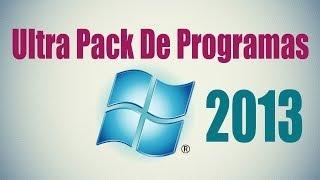 getlinkyoutube.com-Descargar El Ultra Pack De Programas de 3,68 GB - full 2013