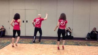 getlinkyoutube.com-Touch Bachata Dance Moves - Ataca and Alemana