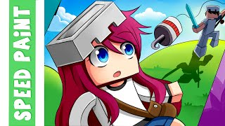 getlinkyoutube.com-Minecraft ImTully Banner Speedpaint-Enzo