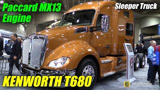 getlinkyoutube.com-2015 Kenworth T680 Truck with Paccar MX 13 Engine - Exterior, Interior Walkaround - 2015 Expocam MTL
