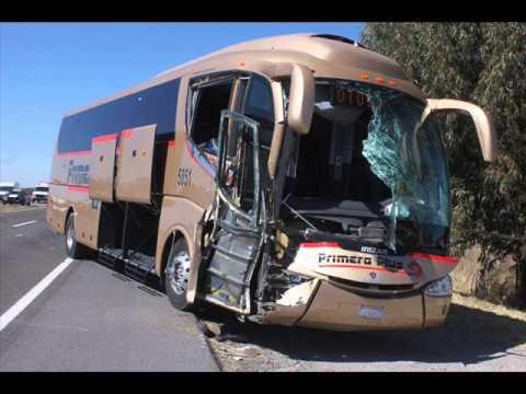 Accidentes de autobuses en mexico parte 6.