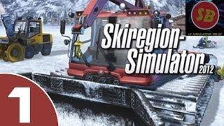 getlinkyoutube.com-#001 Carrière suivie sur ski région simulator 2012 ! TEST Découverte !