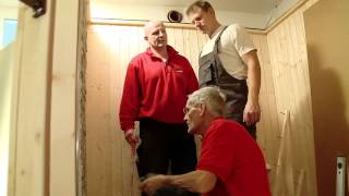 getlinkyoutube.com-BAUHAUS TV - DIE WENDES Handwerker mit Herzblut - Folge 7: Projekt Sauna