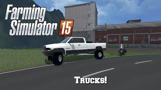 getlinkyoutube.com-Farming Simulator 15: Mod Spotlight #88: Trucks!
