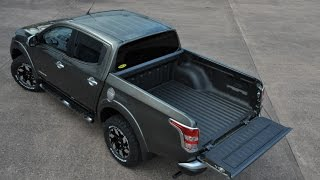 getlinkyoutube.com-65 plate Mitsubishi L200 Barbarian LINE-X Bedliner - The Fastest LINE-X  Applicator Ever!