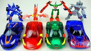 getlinkyoutube.com-MeCard Cars 터닝메카드 장난감 과 미니특공대 미니 열쇠고리 Key Chain & mini car toys