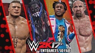 getlinkyoutube.com-WWE 2K17 - All Entrances So Far Released ( Pre Launch )