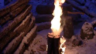 getlinkyoutube.com-Improved Swedish Fire Torch design