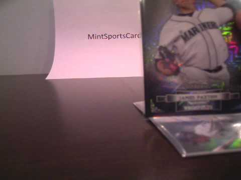 2012 Bowman Sterling Baseball Box Japanese Edition - Update