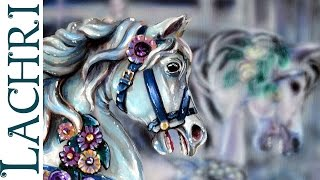 getlinkyoutube.com-Speed Painting carousel horse- Time Lapse Demo by Lachri