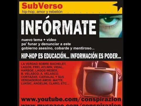 Informate de Subverso Letra y Video