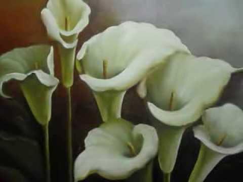 Video aula pintura de copo de leite