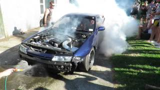 NZ TGA SKIDS- RB30det R32 21st burnout skid