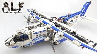 getlinkyoutube.com-Lego Technic 42025 Cargo Plane - Lego Speed Build Review