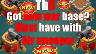 getlinkyoutube.com-Clash of Clans|Epic TH8 War Base|Anti 3 Star|With Replays|