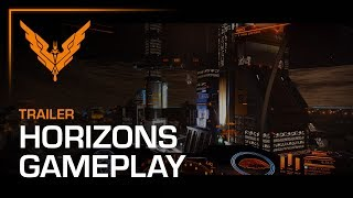 Elite Dangerous: Horizons - Planetary Landing Gameplay Trailer