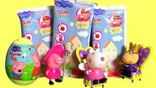 getlinkyoutube.com-Surprise Clay Buddies Porquinha Peppa Pig Blind Bags Ovo Surpresa Brinquedos BR Massinha de Modelar