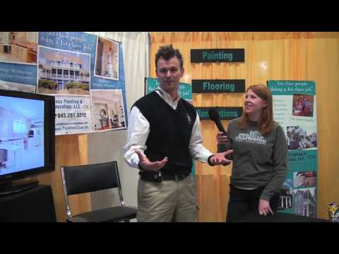Charleston Home + Design Show: 1st Class Painting