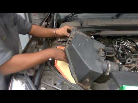 X1 Air Filter Replacement