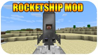 getlinkyoutube.com-★Minecraft Xbox 360 Edition - Cool NEW Rocket Ship Mod With Download★