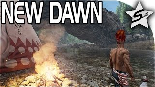 getlinkyoutube.com-New Dawn Gameplay - NATIVES VS PIRATES - Island Survival Sandbox - Villages & PIRATE STRONGHOLDS